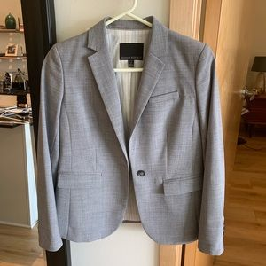Banana Republic Light Grey Blazer